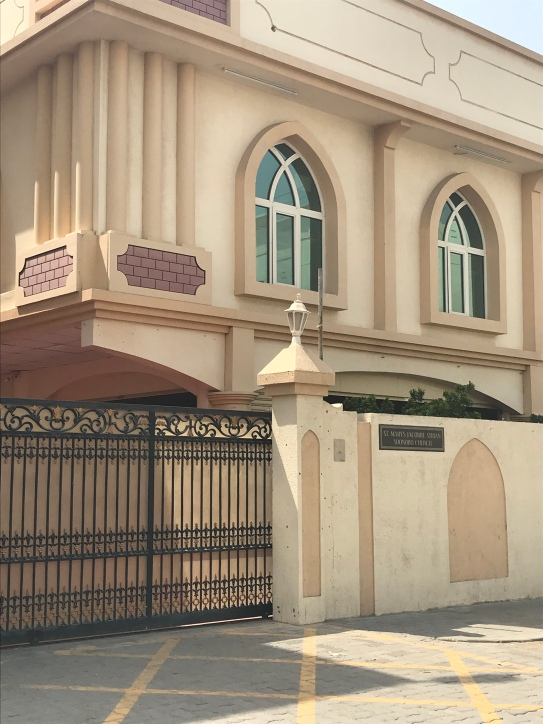 St Mary's Jacobite Syrian Soonoro Church, Sharjah, UAE