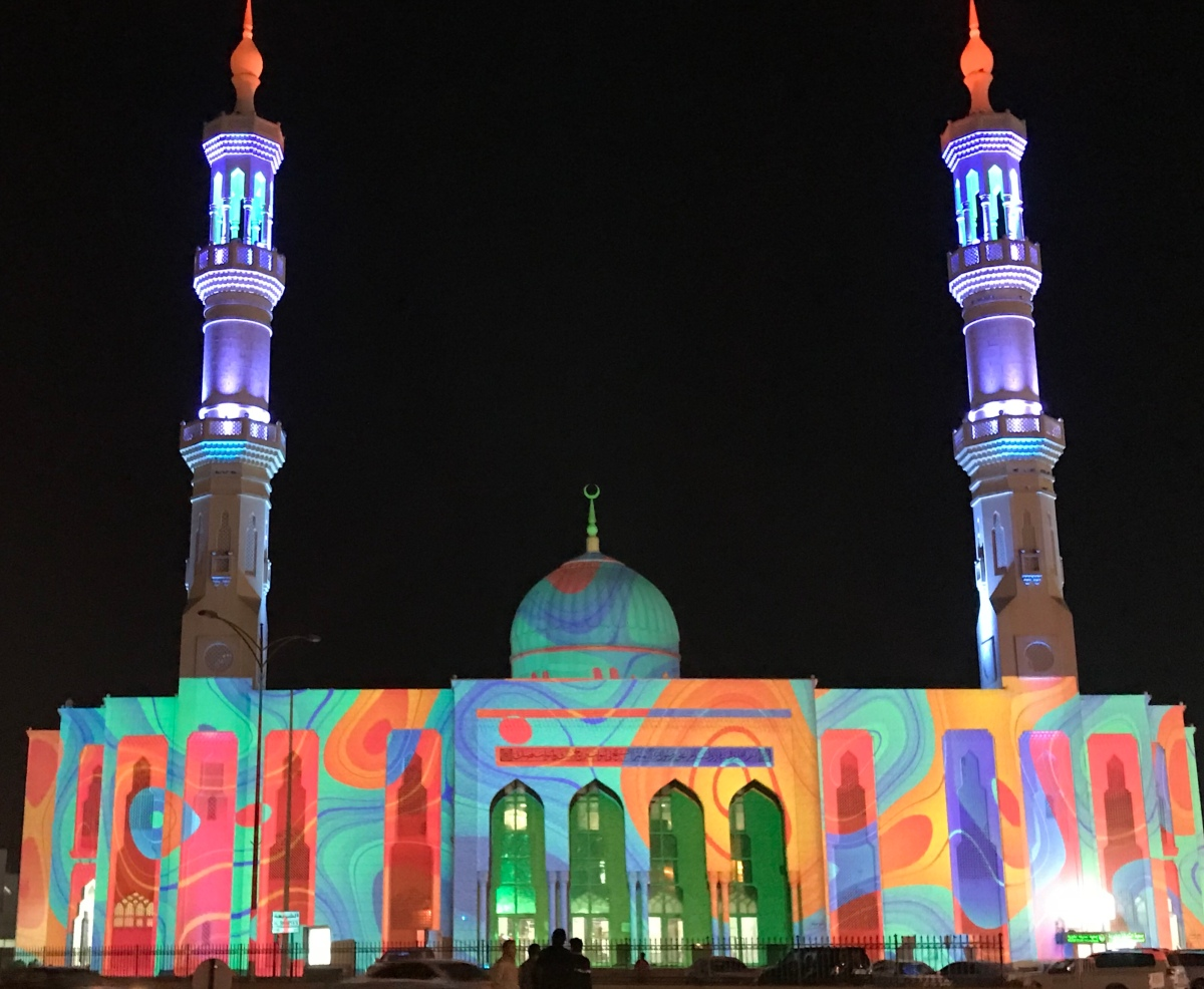 Sharjah Light Festival 2019 – A Journey of Lights
